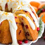 Cranberry Orange Butter Cake