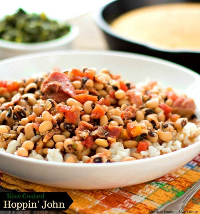 Slow Cooked Hoppin John