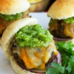 Mexican Beef Sliders and Tomatilla Sauce