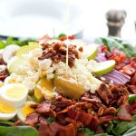 Spinach Salad with Honey Dijon Vinaigrette