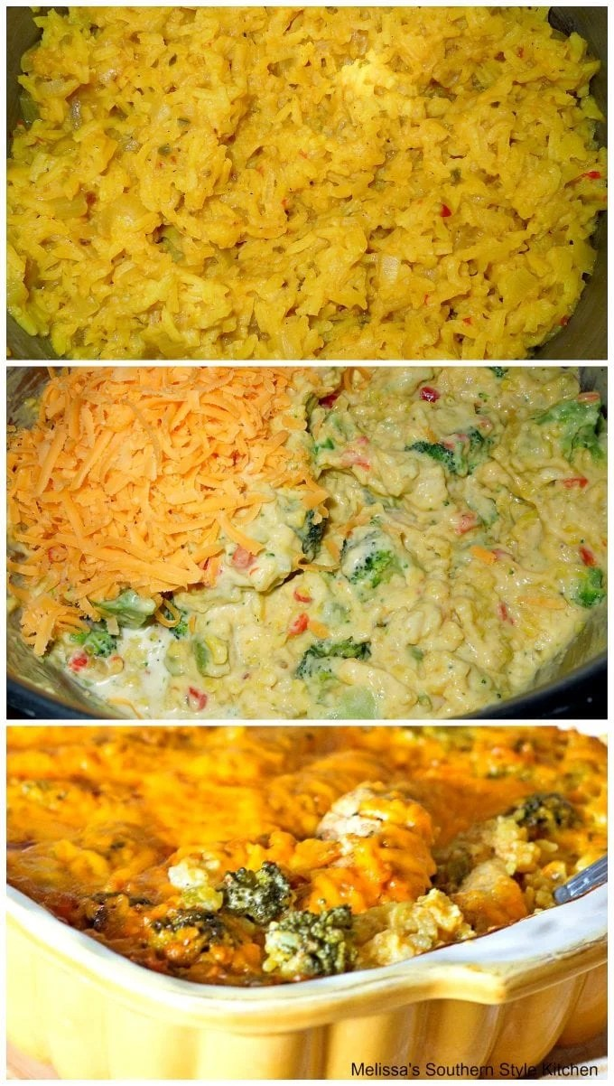 Broccoli Cheese Chicken and Rice
