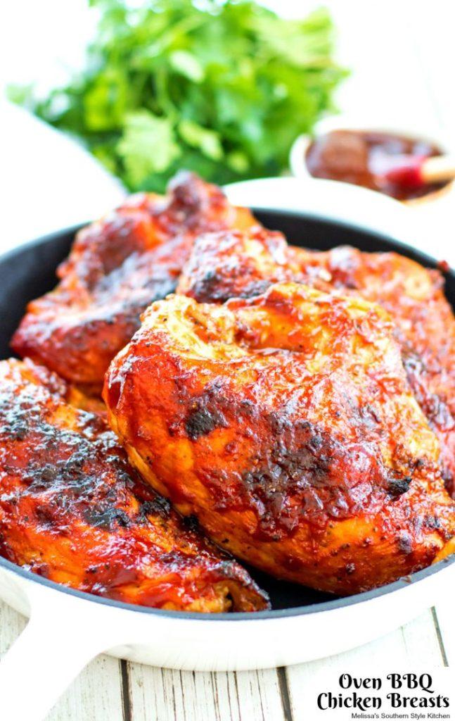 Oven BBQ Chicken Breasts