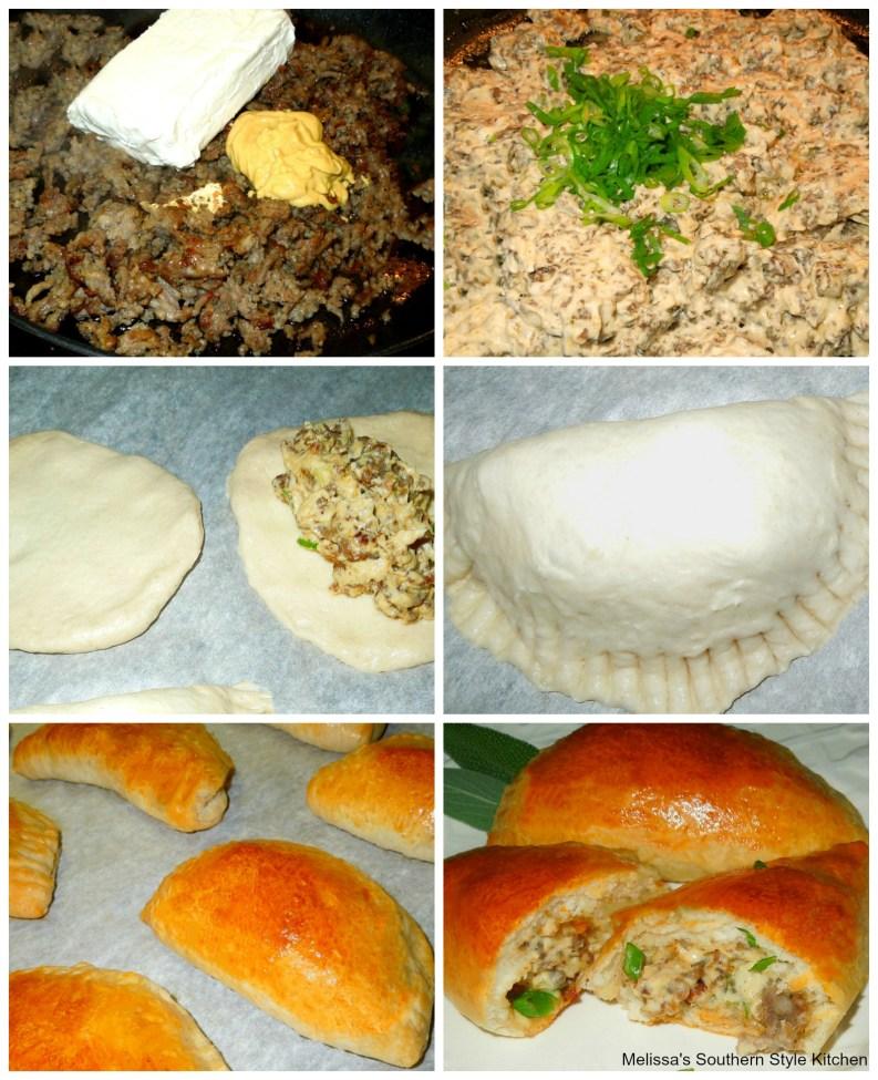 Dijon Sausage Filled Breakfast Pastries