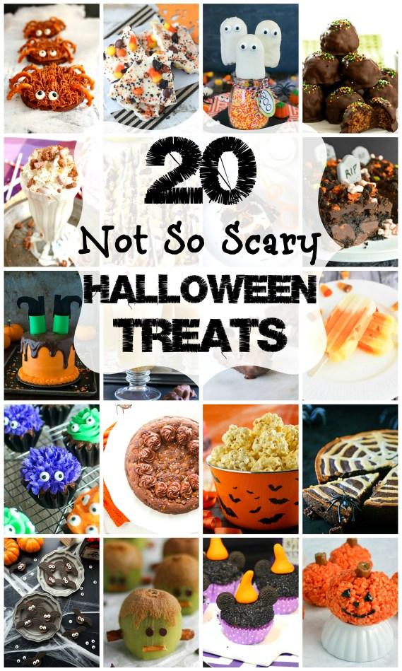 No Tricks, Just Treats! 20 Not-So-Scary Halloween Treats