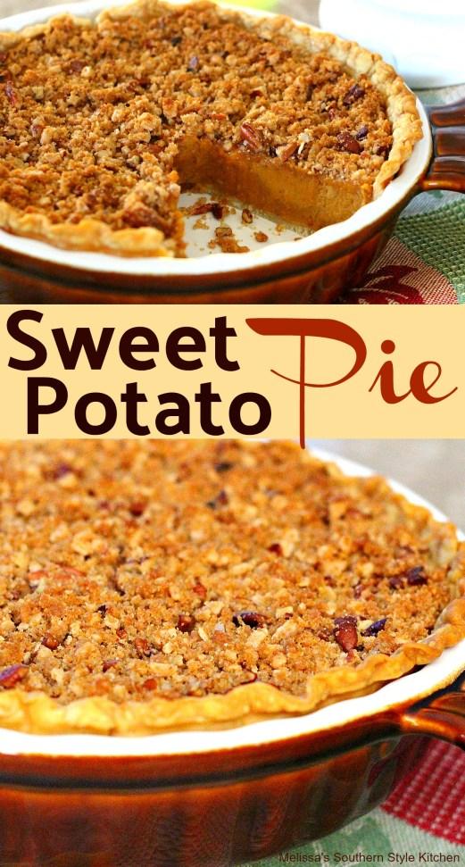 A Southern Classic Sweet Potato Pie