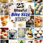 25 Blissful Bite Size Desserts We Can't Get Enough Of