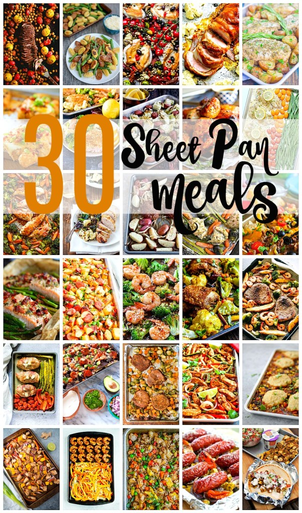 Easy to make Sheet Pan Meals