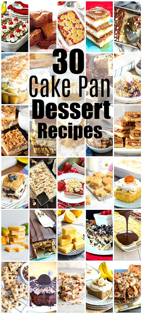 30 Cake Pan Desserts for Every Occasion
