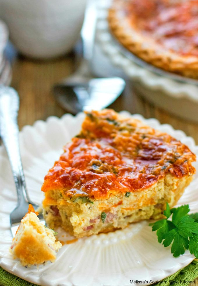 Easy Ham and Cheese Quiche