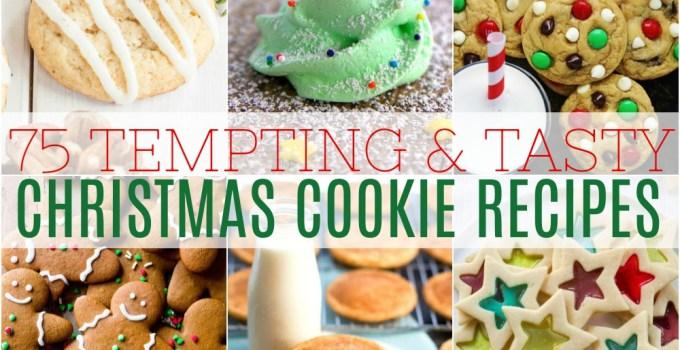 75 Tasty Christmas Cookies