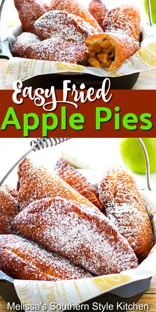 Easy Fried Apple Pies