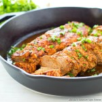 Roasted Chili Lime Pork Tenderloin