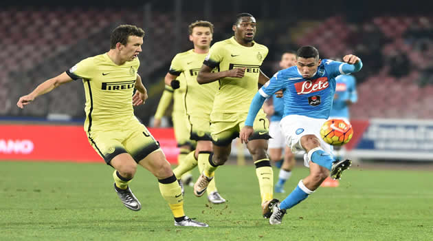 Coppa Italia - Napoli vs Inter - Allan