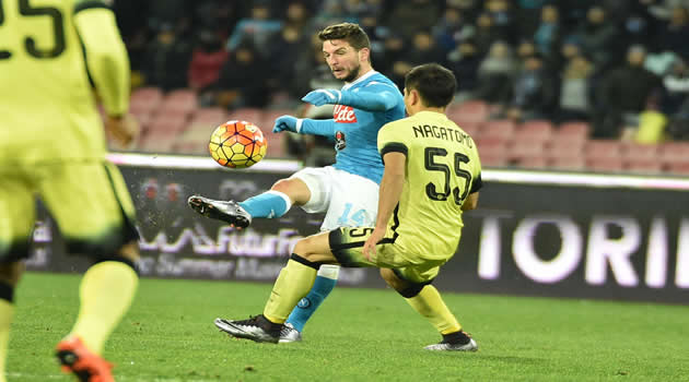 Coppa Italia - Napoli vs Inter - Mertens