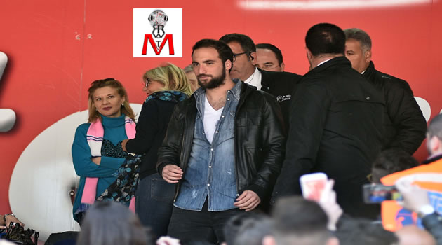 Napoli vs Verona - Higuain in tribuna