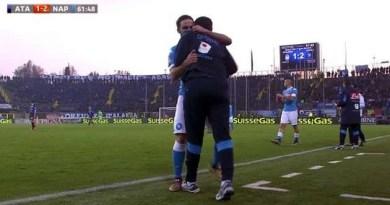 Atalanta vs Napoli Higuain abbraccia Sarri