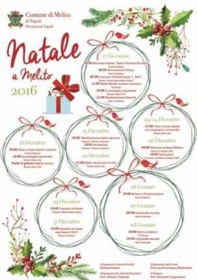 Natale a Melito 2016