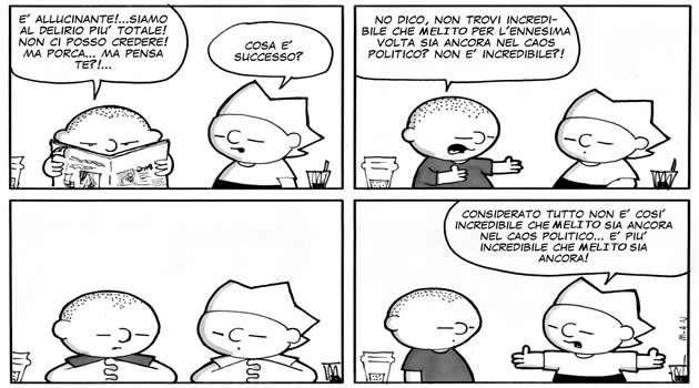 fumetto politica