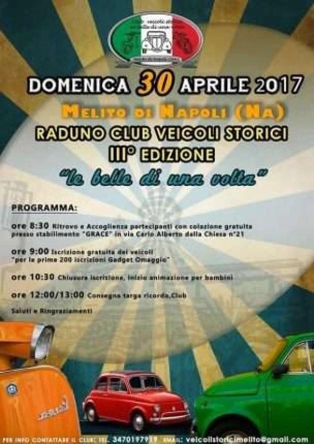 locandina Club Veicoli Storici