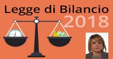 On. Rostan - Legge di Bilancio 2018