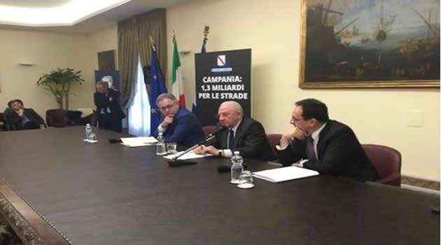 Regione Anas piano strade Campania