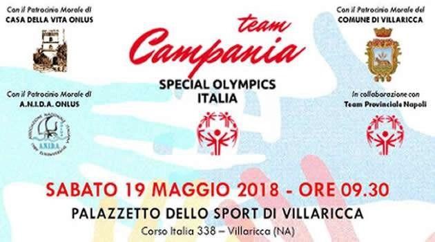 """Villaricca, al  palazzetto dello sport si sono svolte """"Le Olimpiadi della Disabilità"""""""