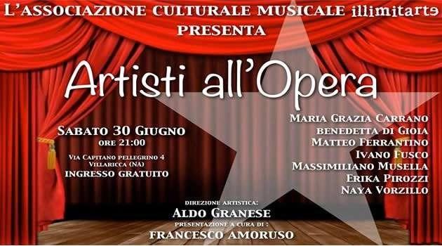 "Villaricca: L'Associazione Illimitarte presenta ""Artisti all'Opera"""