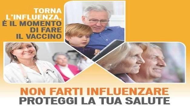 Influenza niente paura: avviata la campagna antinfluenzale dal 5 ottobre