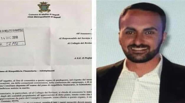 """Melito. Piano di rientro, Nunzio Marrone lancia l'allarme: """"Chiarezza e trasparenza"""""""