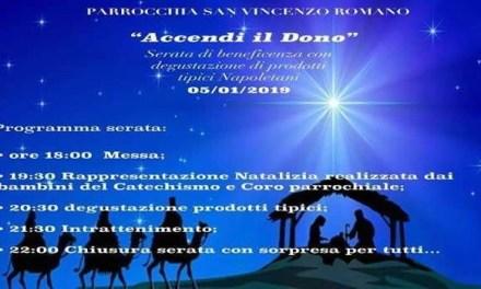 Melito. Serata di beneficenza nella Chiesa San Vincenzo Romano