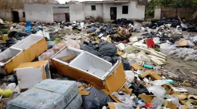 Bomba ecologica tra Arzano, Melito e Scampia