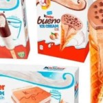 C'è grande attesa per i nuovi gelati Kinder. La presentazione a Napoli