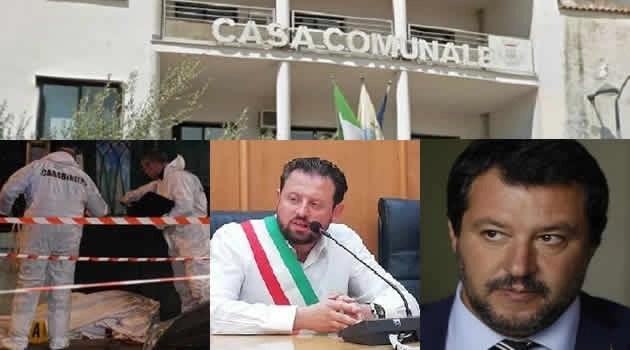 Mugnano - omicidio sindaco Sarnataro Ministro Salvini