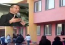 Melito Don Merola al liceo Kant