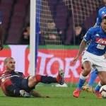 Un Napoli distratto e poco deciso impatta contro un ottimo Genoa: al San Paolo è 1-1