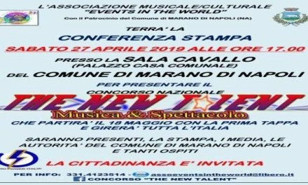 IV edizione del Concorso Nazionale The New Talent