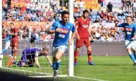 Un Napoli travolgente contro la Roma: all'Olimpico termina 1-4