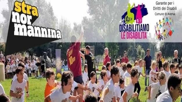"""Aversa. Domenica 19 maggio 2^ edizione della Stranormannina dedicata ai """"bambini speciali"""""""