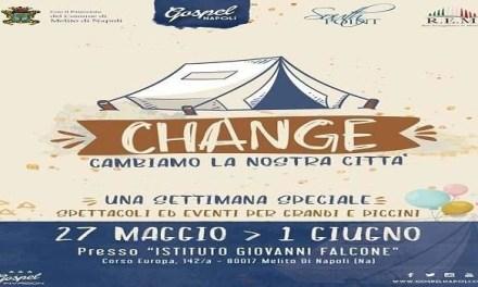 """Melito, """"CHANGE… cambiamo la nostra città""""."""
