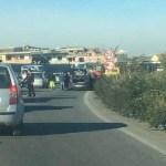 Traffico in tilt, incidente a catena sull'Asse Mediano