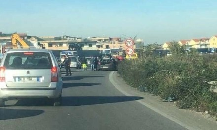 Traffico in tilt, incidente a catena sull'Asse Mediano