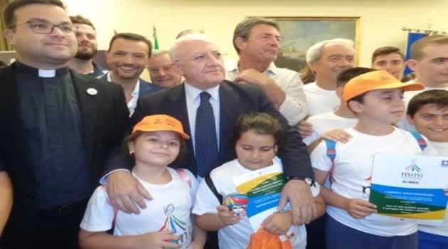Regione Campania bilancio Universiadi e Mini Giochi