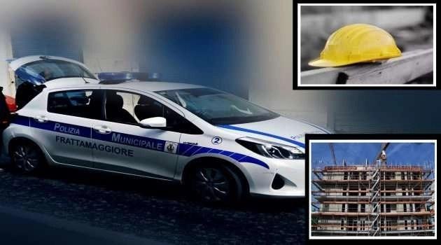 Frattamaggiore. Morti bianche, nel mirino degli agenti della polizia locale numerosi cantieri.