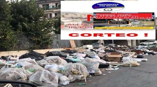 """Melito. La """"farsa"""" dei cortei contro lo sversamento illecito dei rifiuti"""
