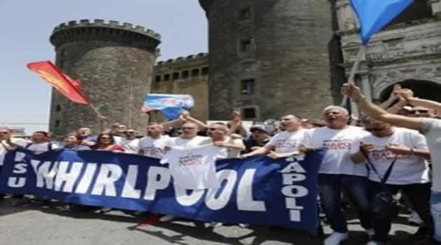 Napoli, Whirlpool: chiuderà il prossimo 31 ottobre