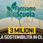 """""""Facciamo Ecoscuola"""", Micillo: """"L'educazione ambientale deve entrare fortemente nelle nostre scuole"""""""