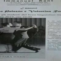 Melito, gli alunni del Kant incontrano i maestri del Tango Argentino