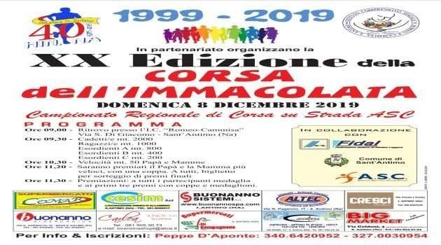 """Festa dello sport, XX edizione della """"Corsa dell'Immacolata"""""""