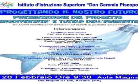 Ambiente, salute e legalità al Don Geremia Piscopo di Arzano