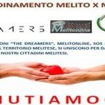 """Solidarietà. The Dreamers, Melitonline e SOS Italiani assieme per """"Melito per Melito"""""""